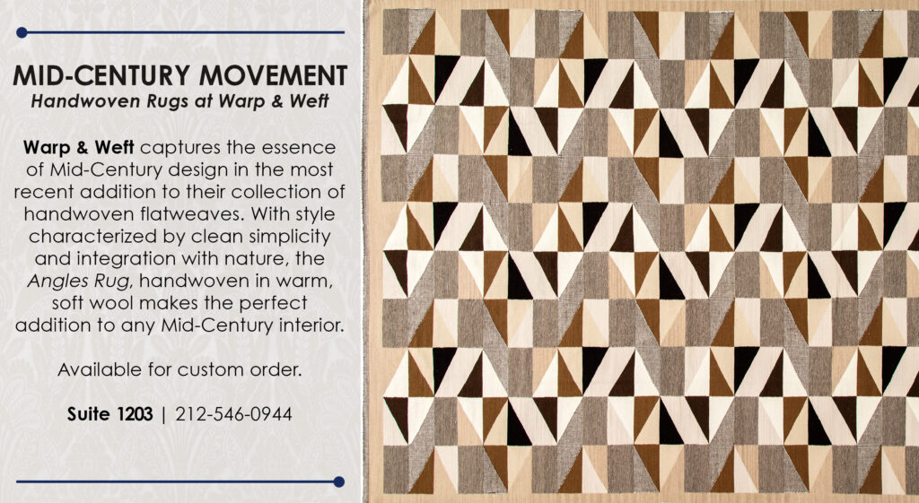 mid century movement at warp and weft