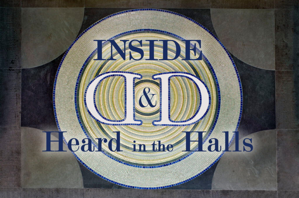 Inside ddb heard in the halls - cover image