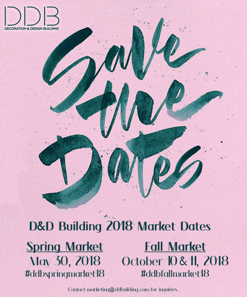 2018 market save the dates