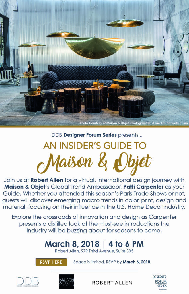 An Insider\'s Guide To Maison & Objet - Decoration & Design Building