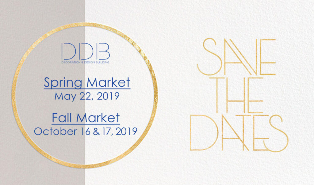 2019 Market save the dates