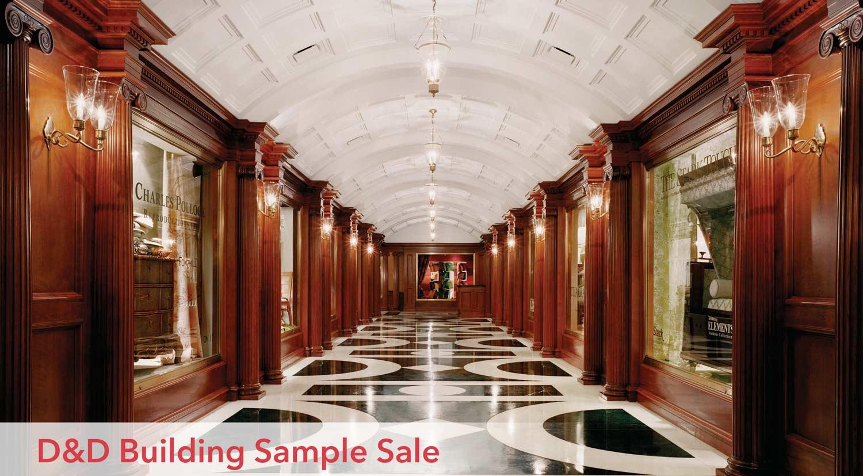 D&D Building Sample Sale
