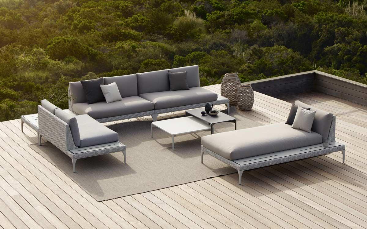 Dedon MU Outdoor Modular Lounge System