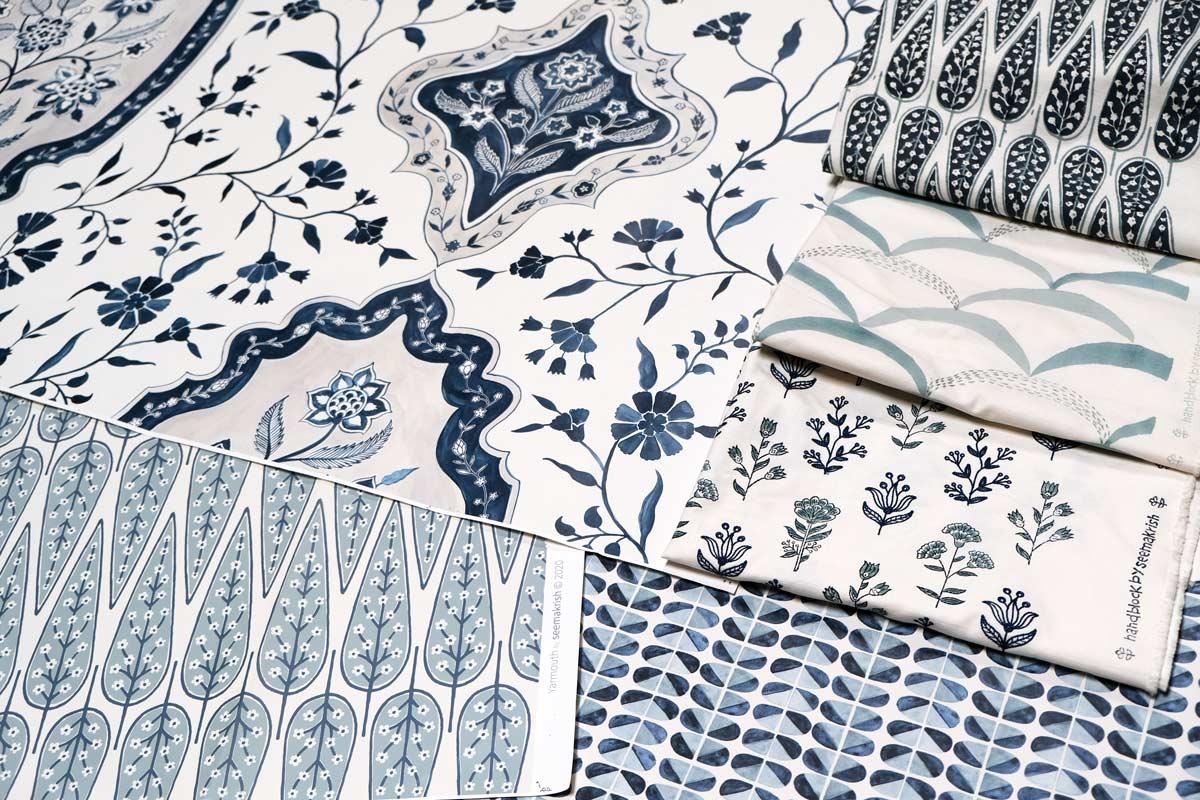 Seema Krish Textiles Joins Holland & Sherry
