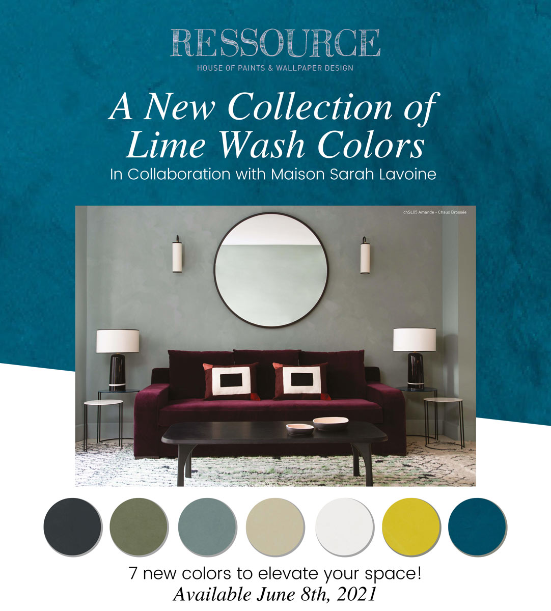 Ressource: A New Collection of Lime Wash Colors