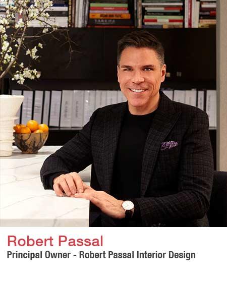 Robert Passal interior designer headshot