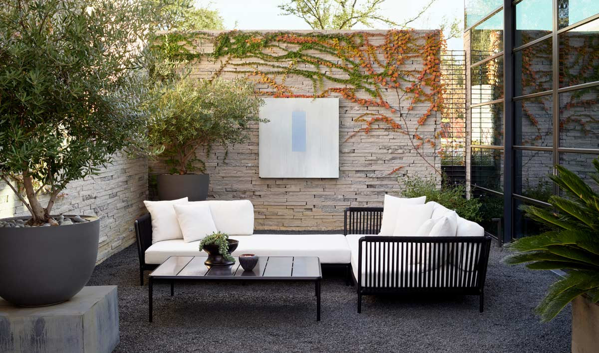 Sutherland Furniture Spring 2021 Otti Modular Collection