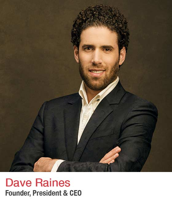 Dave Raines - headshot. Founder & CEO of Crestron. Fall Market 2021