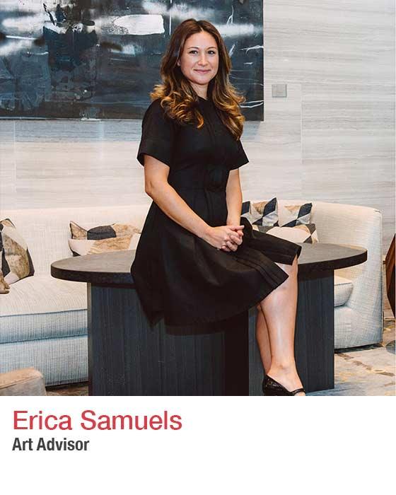 Erica Samuels - headshot. Fall market 2021