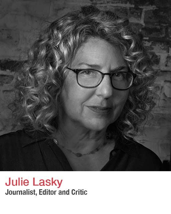 Julie Lasky - Headshot. Fall Market 2021. Editor