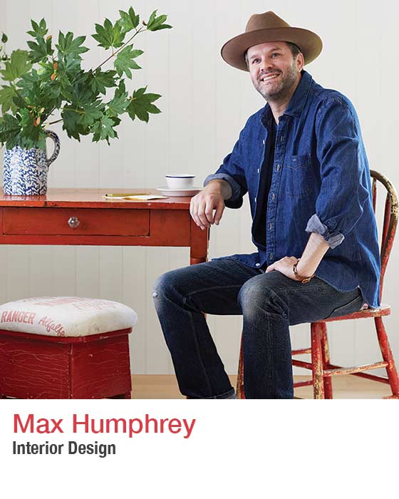 Max Humphrey - headshot. Interior Design - Fall Market 2021