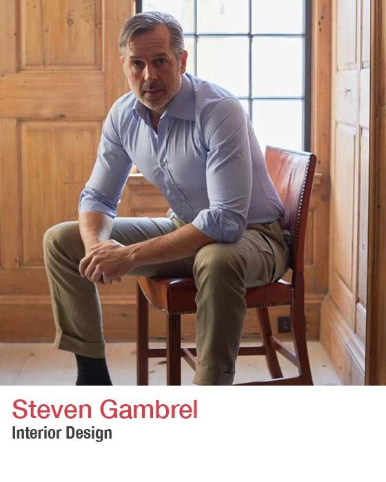 Steven Gambrel - headshot. Fall Market 2021
